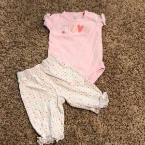 New born girl outfit